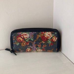 Floral Vintage Wallet